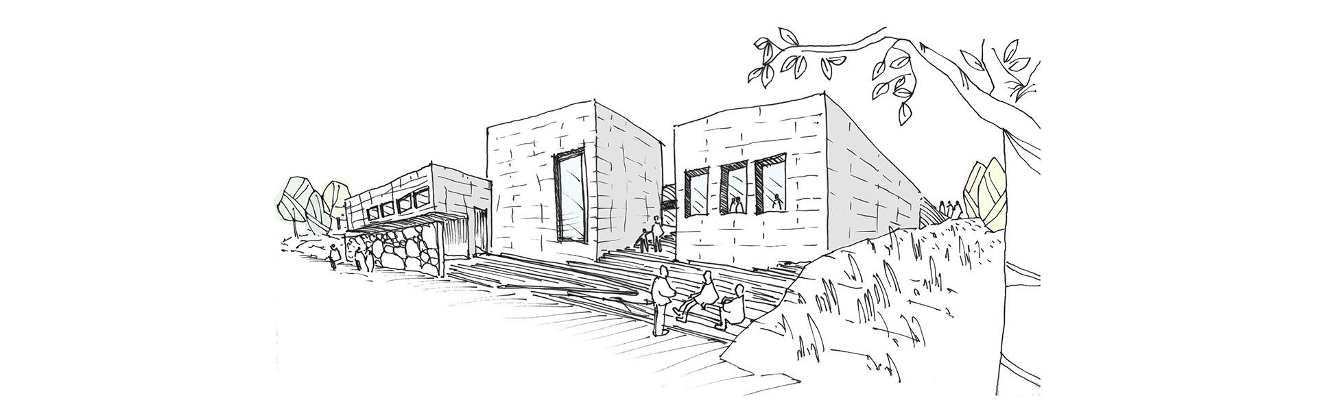 Bozzetto grafico progetto Site Museum