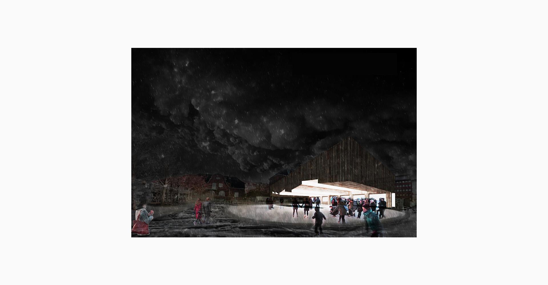 Winter Light 2 - progetto di architettura degli spazi pubblici