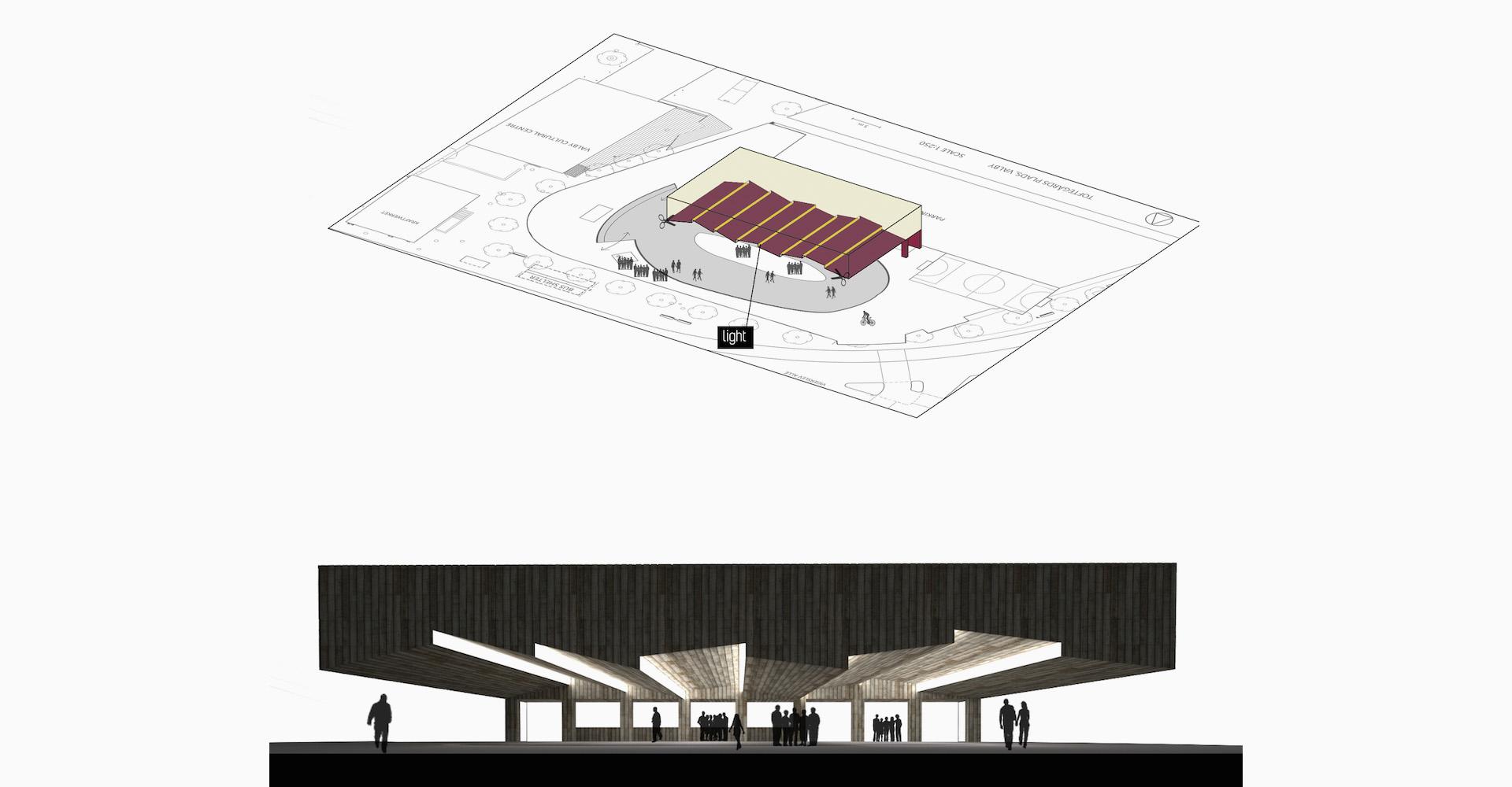 Architettura spazi pubblici - Winter Light - Asso